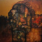 Acrílico sobre tela , 134 X 134 cm , 2012