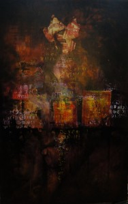 Acrílico sobre tela, 151 X 96 cm , 2012