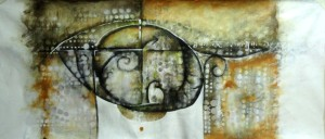 Acrílico sobre tela , 69 X 160 cm, 2013