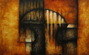 Acrílico sobre tela 76 X 122 cm , 2013